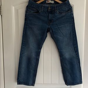 Levi's 505 Regular Husky Fit Boys Size 10